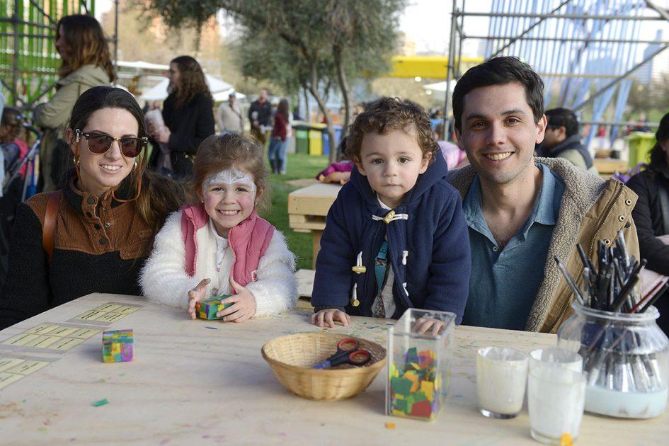 Familia en Chile Lindo